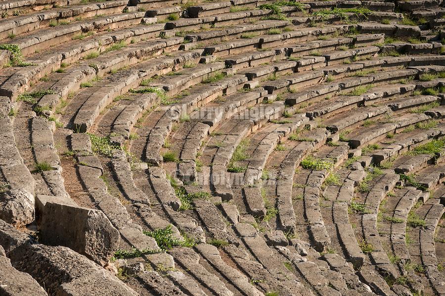 Amphitheater, Delphoi, Greece