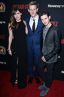 """HOLLYWOOD, LOS ANGELES, CA, USA - MARCH 20: Christa B. Allen, Gabriel Mann, Connor Paolo at the Los Angeles Premiere Of Pantelion Films And Participant Media's """"Cesar Chavez"""" held at TCL Chinese Theatre on March 20, 2014 in Hollywood, Los Angeles, California, United States. (Photo by David Acosta/Celebrity Monitor)"""