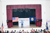 Texas senator and Republican presidential candidate Ted Cruz speaks during a town hall event at Peterborough Town House in Peterborough, New Hampshire, on Sun., Feb. 7, 2016.