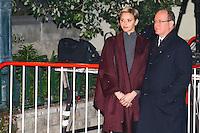 PAS DE WEB, PAS DE TABLOIDS - Monaco - 26/01/2017 - CÈlÈbration de la Sainte DÈvote en prÈsence du Prince Albert II de Monaco et de la princesse CharlËne