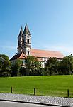 Deutschland, Niederbayern, Benediktinerkloster Niederaltaich: Barockbasilika | Germany, Lower Bavaria, Benedictine Monastery Niederaltaich: baroque Basilica