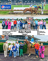 Ruby Punch winning at Delaware Park on 9/8/18