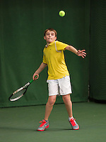 20131201,Netherlands, Almere,  National Tennis Center, Tennis, Winter Youth Circuit, Daniel Bernard   <br /> Photo: Henk Koster