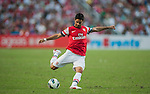 Mikel Arteta of Arsenal FC in action during the pre-season Asian Tour friendly match against Kitchee FC at the Hong Kong Stadium on July 29, 2012. Photo by Victor Fraile / The Power of Sport Images