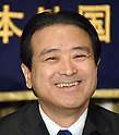 Kenji Eda, co-leader of the Japan Innovation Party