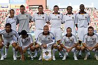 LA Galaxy Starting Eleven. LA Galaxy vs FC Dallas at Pizza Hut Park Frisco, Texas July 27, 2008 Final Score 0-4.
