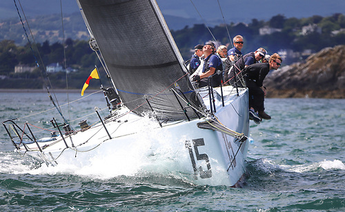 Racing at Volvo Dun Laoghaire Regatta 2019, two years later the a fleet of 400 is expected off Dun Laoghaire Harbour