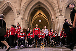 Canadian Olympians and Paralympians enjoy a day of celebration at Parliament Hill, Ottawa, Canada.Wednesday November 2, 2016.    COC Photo/David Jackson