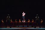 BOLÉRO<br /> <br /> MUSIQUE I MUSIC Maurice Ravel, Boléro pour orchestre (1927)<br /> CHORÉGRAPHIE, SCÉNOGRAPHIE ET COSTUMES<br /> CHOREOGRAPHY, SCENOGRAPHY AND COSTUME DESIGN<br /> Maurice Béjart (1961)<br /> LUMIÈRES I LIGHTING DESIGN Clément Cayrol<br /> Ballet créé le 10 janvier 1961 par le Ballet du XXe siècle<br /> au Théâtre Royal de la Monnaie à Bruxelles.<br /> Ballet created on January 10th 1961 by the Ballet of the 20h Century<br /> at the Brussels Monnaie Theatre<br /> Ballet entré au répertoire de l'Opéra national de Paris<br /> le 23 octobre 1970, au Palais des Sports<br /> Entered the repertoire of the National Paris Opera<br /> on October 23d 1970 at the Paris Palais des Sports<br /> Marie-Agnès Gillot<br /> Audric Bezard, Vincent Chaillet<br /> Yannick Bittencourt, Yann Chailloux, Allister Madin, Julien Meyzindi, Marc Moreau, Adrien Couvez, Grégory Dominiak, Alexandre Gasse, Antoine Kirscher, Pablo Legasa, Francesco Mura, Alexandre Carniato, Antonio Conforti, Alexandre Labrot, Simon Le Borgne, Andrea Sarri<br /> Durée l Duration 16 mn<br /> Ballet de l'Opéra<br /> Lieu | Place : Opéra Bastille<br /> Ville | Town : Paris<br /> Date : 22/02/2018