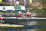 Rowing, 2011 FISA World Rowing Championships, Lake Bled, Bled, Slovenia, Europe, Rowing Canada Aviron, Canada Lightweight men's pair, from stern: Morgan Jarvis (Winnipeg, MB) Kingston RC, Tim Myers (Penticton, BC) University of Victoria RC,