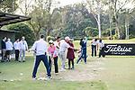 Hong Kong Blind Sports Federation Clinic during the day one of UBS Hong Kong Open 2017 at the Hong Kong Golf Club on 23 November 2017, in Hong Kong, Hong Kong. Photo by Marcio Rodrigo Machado / Power Sport Images