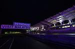 05 Apr 2009, Kuala Lumpur, Malaysia --- Night view of the Sepang circuit after the 2009 Fia Formula One Malasyan Grand Prix near Kuala Lumpur. Photo by Victor Fraile --- Image by © Victor Fraile / The Power of Sport Images