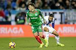 CD Leganes' Youssef En-Nesyri and Deportivo Alaves' Ximo Navarro (L)  during La Liga match. November 23,2018. (ALTERPHOTOS/Alconada)