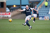 13th March 2021; Dens Park, Dundee, Scotland; Scottish Championship Football, Dundee FC versus Arbroath; Charlie Adam of Dundee fires in a shot