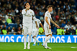 Sergio Ramos of Real Madrid celebrates goal during La Liga match between Real Madrid and CD Leganes at Santiago Bernabeu Stadium in Madrid, Spain. October 30, 2019. (ALTERPHOTOS/A. Perez Meca)