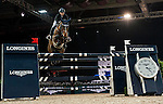 Jane Richard Philips of Switzerland rides Pablo de Virton in action at the Longines Grand Prix during the Longines Hong Kong Masters 2015 at the AsiaWorld Expo on 15 February 2015 in Hong Kong, China. Photo by Juan Flor / Power Sport Images