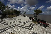 Avenida Portal da Amazônia deserta no último dia das férias escolares de julho, mês de alto verão.<br /> Belém, Pará, Brasil.<br /> Foto Paulo Santos