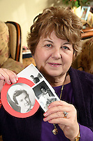"COPY BY TOM BEDFORD<br /> Pictured: Shirley Williams, holding some of the pictures of her late cousin Joan Phillips.<br /> Re: A midwife had her dying wish granted when an undertaker she delivered more than 50 years ago arranged her funeral in Haverfordwest, Pembrokeshire.<br /> Joan Phillips told undertaker Robin Folland: ""I brought you into the world so I want you to take me out of it.""<br /> The pair joked about the unusual arrangement for years when they saw each other in the street.<br /> But when Joan passed away aged 88 Robin stepped in to give her a good send off.<br /> Robin, 54, said: ""Joan lived nearby and when my mum went into labour she was there to deliver me.<br /> ""When I started working for my dad's funeral company Joan told me I had to look after her when the time came.<br /> ""She used to say that she brought me into the world so I had to take her out of it."