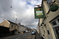 Pictured: The Castle pub in Bridge Street in Llangennech, west Wales. Thursday 24 February 2017<br />