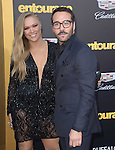 Ronda Rousey and Jeremy Piven attends The Warner Bros. Pictures' L.A. Premiere of Entourage held at The Regency Village Theatre  in Westwood, California on June 01,2015                                                                               © 2015 Hollywood Press Agency