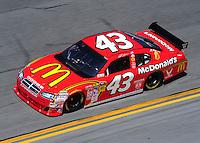Feb 07, 2009; Daytona Beach, FL, USA; NASCAR Sprint Cup Series driver Reed Sorenson during practice for the Daytona 500 at Daytona International Speedway. Mandatory Credit: Mark J. Rebilas-