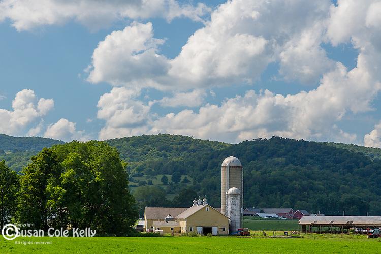 Farmland in Rupert, Vermont, USA