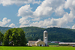 Farmland in Rupert, Vermont, USA