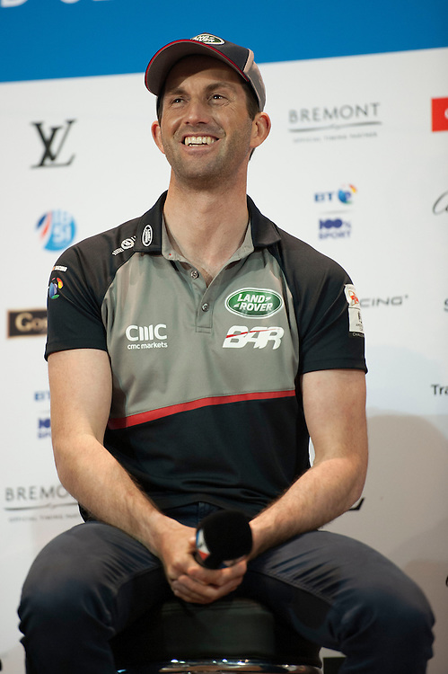 Sir Ben Ainslie, JULY 21, 2016 - Sailing: Sir Ben Ainslie, skipper Land Rover BAR during the Louis Vuitton America's Cup World Series press conference, Portsmouth, United Kingdom. (Photo by Rob Munro/Stewart Communications)