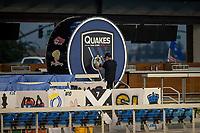 SAN JOSE, CA - SEPTEMBER 05: Quakes Drum during a game between Colorado Rapids and San Jose Earthquakes at Earthquakes Stadium on September 05, 2020 in San Jose, California.