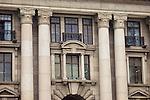 Facade Detail Above The Main Entrance Of Hankou (Hankow) Custom House.