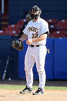 March 14, 2010:  Catcher Max Himmelstein of UMBC in a game vs. Bucknell at Chain of Lakes Stadium in Winter Haven, FL.  Photo By Mike Janes/Four Seam Images