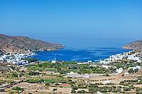 Katapola port of Amorgos island in Cyclades, Greece
