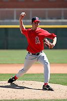 Ryan Aldridge - Los Angeles Angels - 2009 spring training.Photo by:  Bill Mitchell/Four Seam Images