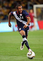 # 17 Juan Agudelo during the  Soccer match between South Africa and USA played at the Greenpoint in Cape Town South Africa on 17 November 2010. The USA won 1-0.