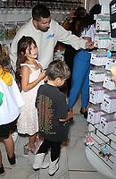 18 September 2021 - Las Vegas, NV - Scott Disick,  Penelope Disick, Reign Disick. Scott Disick Celebrates the Grand Opening of The Sugar Factory Las Vegas At Harmon Corner. Photo Credit: MJT/AdMedia