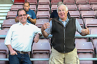 Wycombe Wanderers spectators during The Checkatrade Trophy match between Northampton Town and Wycombe Wanderers at Sixfields Stadium, Northampton, England on 30 August 2016. Photo by David Horn / PRiME Media Images.