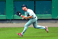 5 August 2007: St. Louis Cardinals outfielder Ryan Ludwick in action against the Washington Nationals at RFK Stadium in Washington, DC. The Nationals defeated the Cardinals 6-3 to sweep their 3-game series...Mandatory Photo Credit: Ed Wolfstein Photo