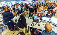 Hilversum, Netherlands, August 9, 2017, National Junior Championships, NJK, match control<br /> Photo: Tennisimages/Henk Koster