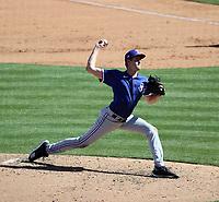Jason Bahr - Texas Rangers 2021 spring training (Bill Mitchell)