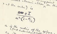 BNPS.co.uk (01202) 558833<br /> Pic: Bonhams/BNPS<br /> <br /> A fascinating letter by a young Alan Turing analysing the probabilities of 'breaking the bank' in Monte Carlo has sold for almost £100,000.<br /> <br /> Almost a decade before he cracked the Enigma code, the genius mathematician used a myriad of equations to assess the chances of winning at roulette.<br /> <br /> He was prompted to do so after the father of a close school friend revealed to him his successful gambling past.