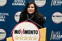 Claudia Giacchetti<br /> <br /> Roma 29/01/2018. Presentazione dei candidati nelle liste uninominali del Movimento 5 Stelle.<br /> Rome January 29th 2018. Presentation of the candidates for Movement 5 Stars.<br /> Foto Samantha Zucchi Insidefoto