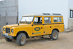 Spain, Canary Islands, Archipielago Chinijo, Isla Graciosa, Caleta del Sebo. Land Rover Santana Series III 109 Cazorla 6-cyl Station Wagon. --- No releases available. Automotive trademarks are the property of the trademark holder, authorization may be needed for some uses.