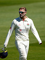 30th May 2021; Emirates Old Trafford, Manchester, Lancashire, England; County Championship Cricket, Lancashire versus Yorkshire, Day 4; Liam Livingstone of Lancashire