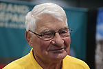 Former champion cyclist Raymond Poulider before the start of the 2015 Tour de France in Utrecht, Netherlands. 3rd July 2015.<br /> Photo: Eoin Clarke www.newsfile.ie