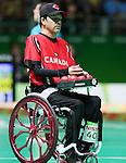Marco Dispaltro, Rio 2016 - Boccia.<br /> Canadian Marco Dispaltro competes in boccia // Le joueur canadien de boccia Marco Dispaltro participe au boccia. 14/09/2016.