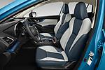 Front seat view of 2020 Subaru Crosstrek Hybrid 5 Door SUV Front Seat  car photos