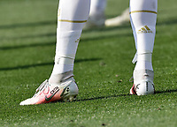 shoesof Cristiano Ronaldo of Juventus  during the  italian serie a soccer match,Fiorentina - Juventus at  theStadio Franchi in  Florence Italy ,