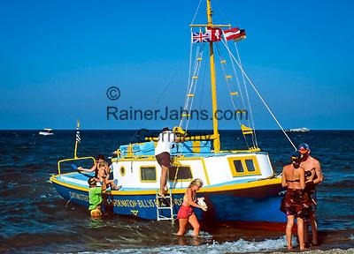 Griechenland, Dodekanes, Rhodos, Vliha Bay: Tagestour mit dem Ausflugsboot | Greece, Dodekanes, Rhodes, Vliha Bay: boat trip
