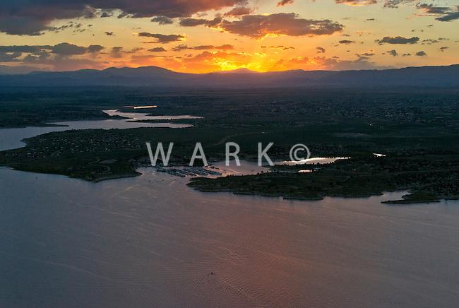 Sunset Lake Pueblo.  June 2014. 85073
