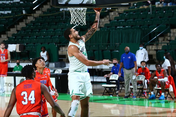 Mean Green,men's basketball at Super Pit in Denton on December 17, 2020